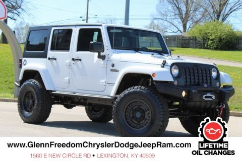 NEW 2018 JEEP WRANGLER JK UNLIMITED FREEDOM EDITION 4X4