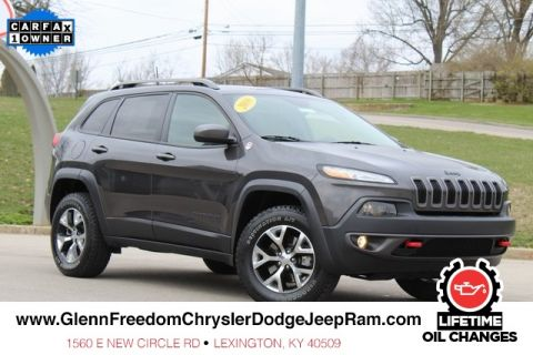 CERTIFIED PRE-OWNED 2016 JEEP CHEROKEE TRAILHAWK 4WD