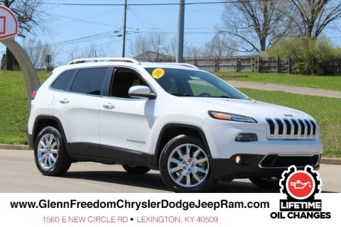 CERTIFIED PRE-OWNED 2016 JEEP CHEROKEE LIMITED 4WD