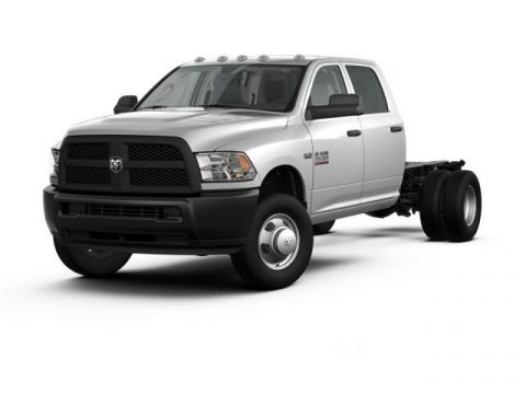 NEW 2017 RAM 3500 TRADESMAN CREW CAB CHASSIS 4X4 172.4 WB